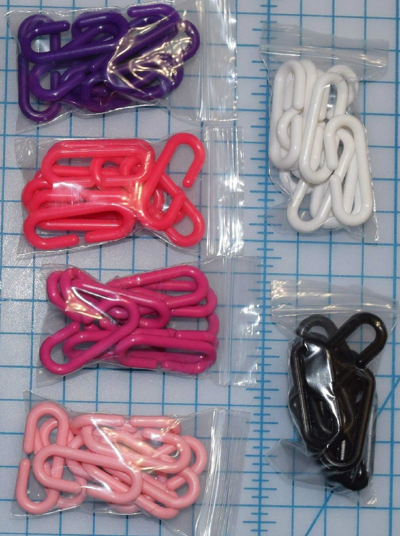 C - LINKS - 10 for $2 Multiple Colors