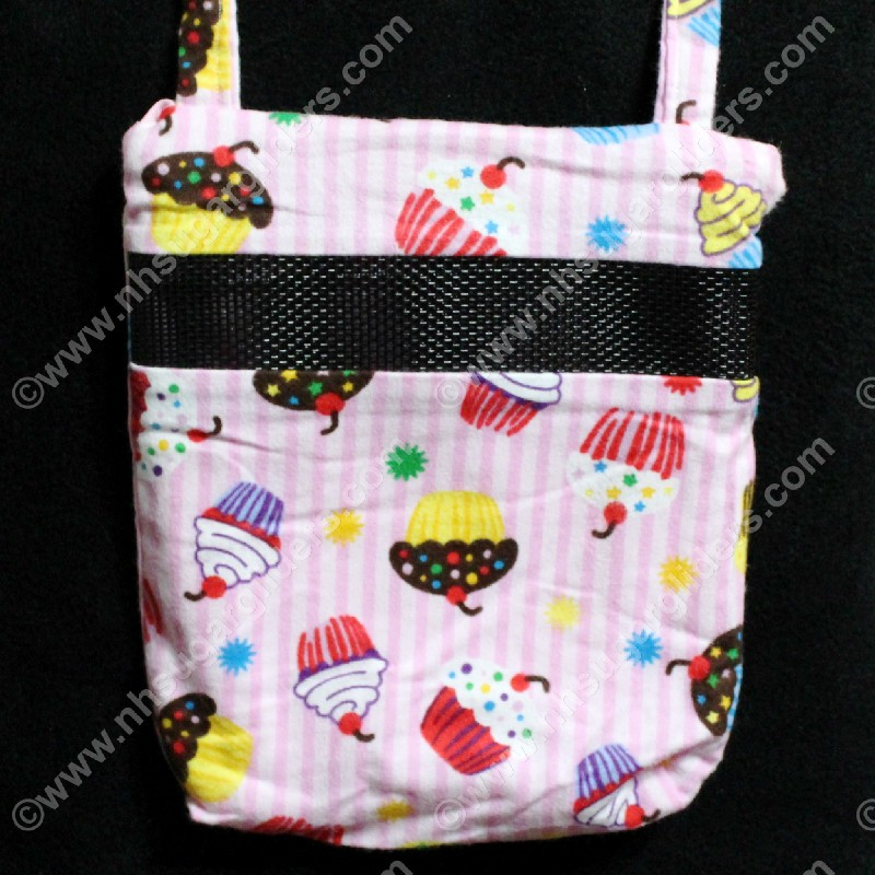 Cupcakes & Stripes Carry & Bonding Pouch