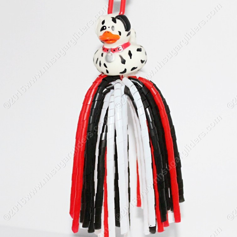 DALMATION DUCKY DINGLE DANGLER TOY