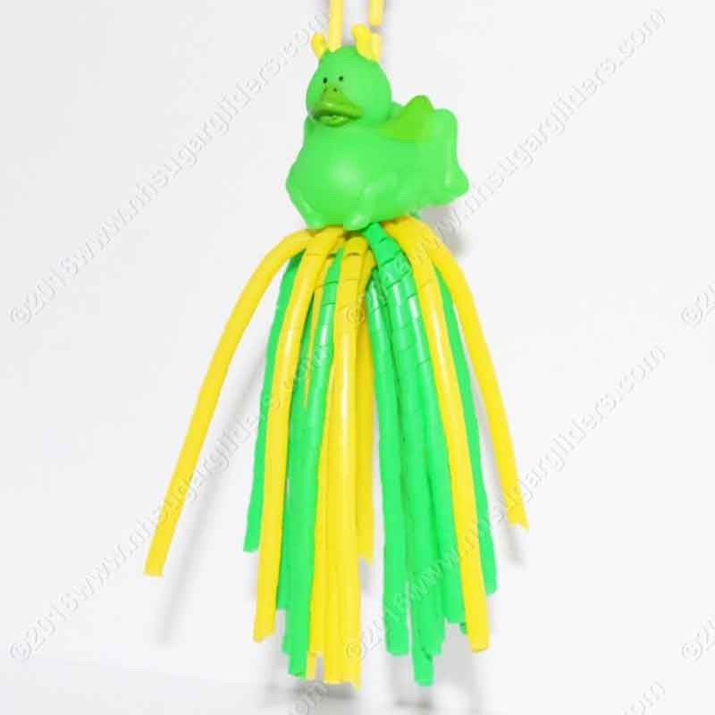 GREEN BUG DUCKY DANGLER TOY
