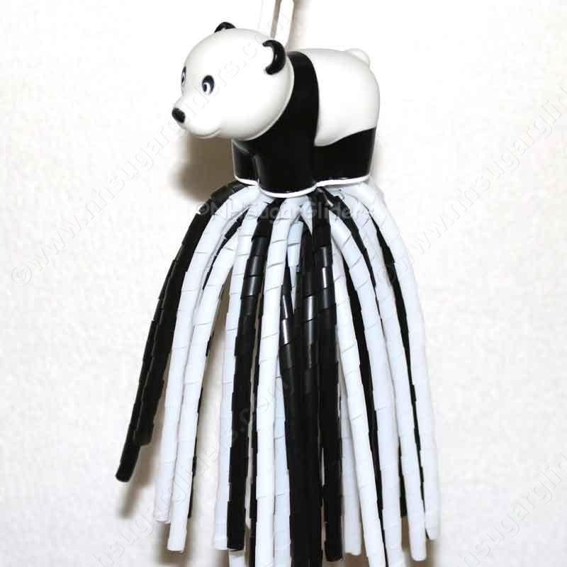 PANDA BEAR DANGLER TOY