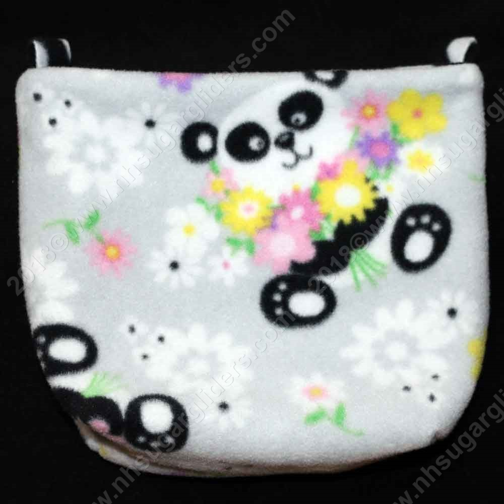 Panda Flowers Cage Pouch - Regular Size