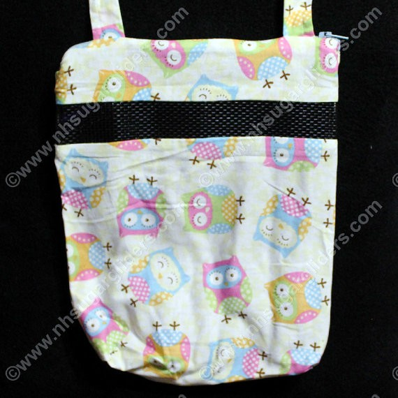 Pastel Owls Carry & Bonding Pouch