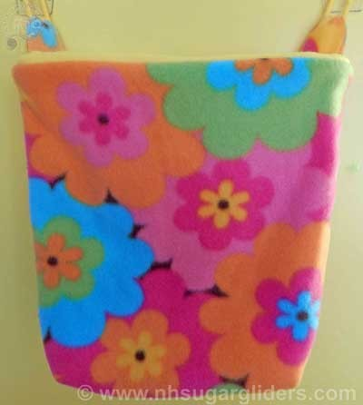 Flower Power Cage Pouch - Regular Size