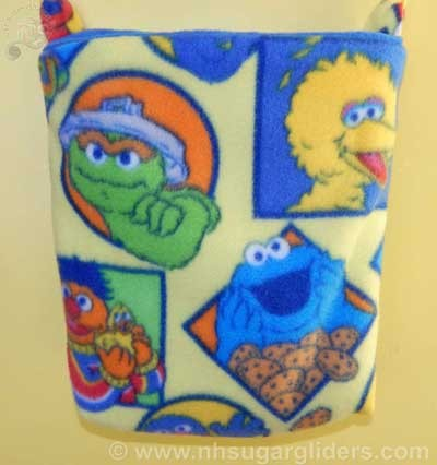 Sesame Friends Cage Pouch - Regular Size