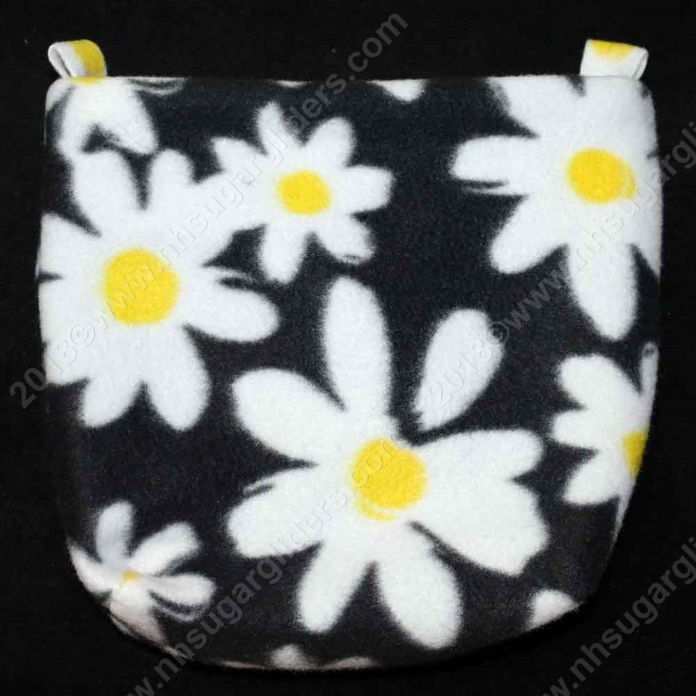 Daisies in White Cage Pouch - Regular Size