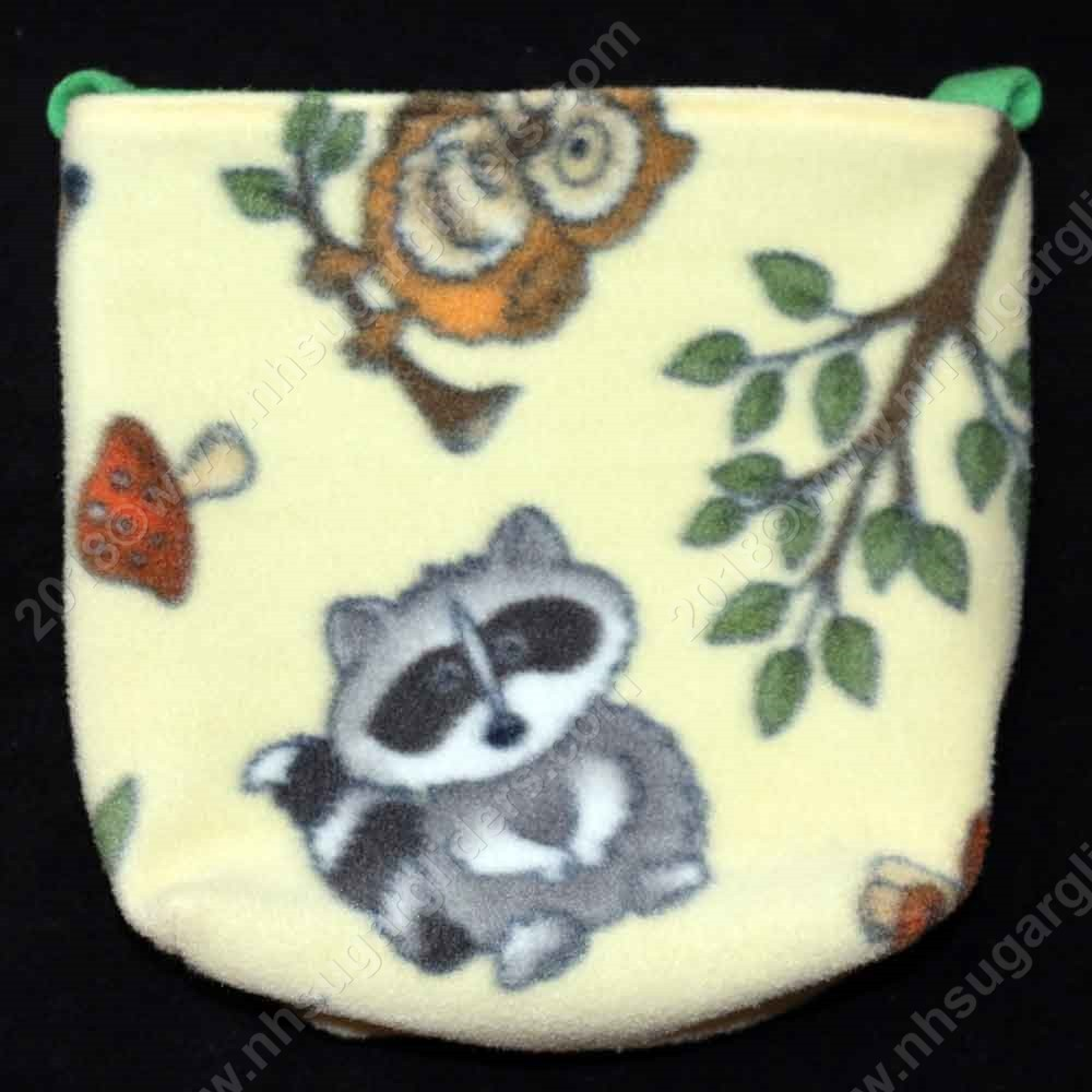 Woodland Animals Cage Pouch - Regular Size