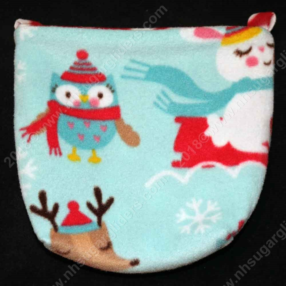 Winter Animals Cage Pouch - Regular Size