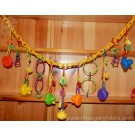 Ducky Dangler Chain - Rainbow Brights - Out Of Stock