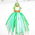 GREEN PENGUIN DANGLER TOY