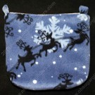 Reindeer & Sleigh Cage Pouch - Regular Size